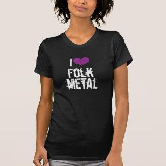 I Love Folk Metal Dark t-shirt