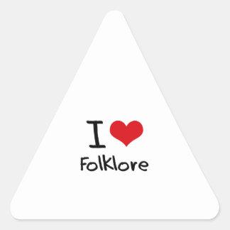 I Love Folklore Sticker