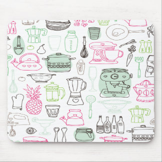 I love food cooking kitchen mousepad