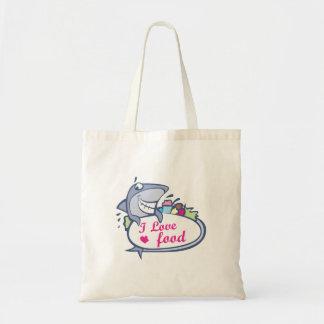 I love food shark bag