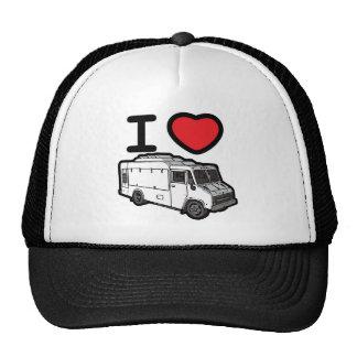 I Love Food Trucks! Cap