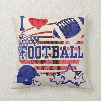 I Love Football (American Football) Cushion