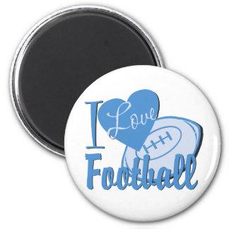 I Love Football Magnet