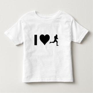 I Love Football Toddler T-Shirt