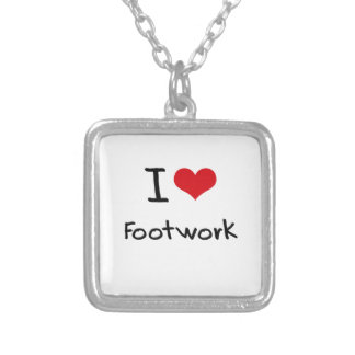 I Love Footwork Necklace