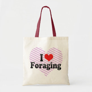 I Love Foraging Budget Tote Bag