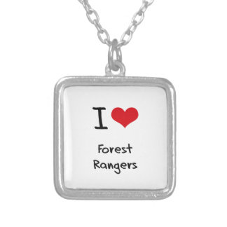 I Love Forest Rangers Jewelry