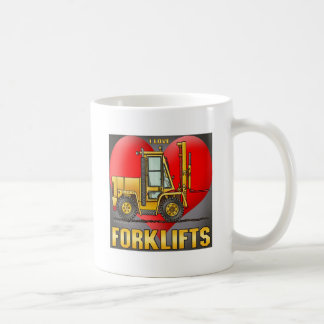 I Love Forklift Trucks Coffee Mug