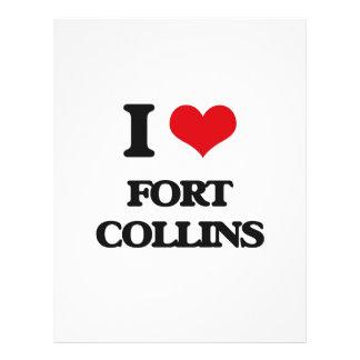I love Fort Collins Full Color Flyer