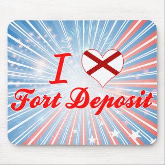 I Love Fort Deposit, Alabama Mousepad