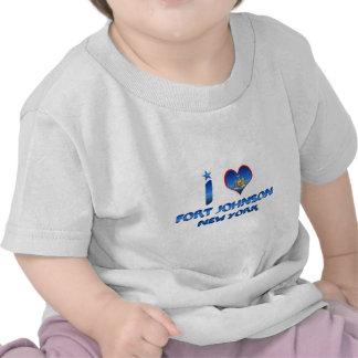 I love Fort Johnson New York T Shirt