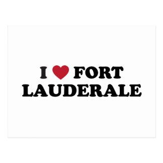 I Love Fort Lauderdale Florida Postcards