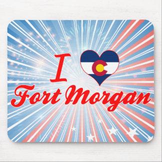 I Love Fort Morgan, Colorado Mousepads