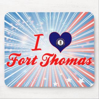 I Love Fort Thomas, Kentucky Mousepads