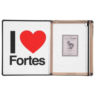 i love fortes iPad cases