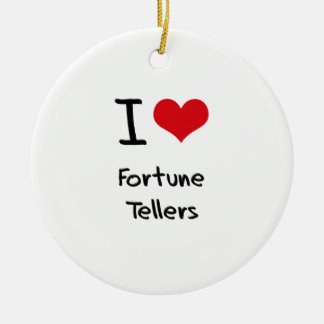 I Love Fortune Tellers Christmas Tree Ornaments