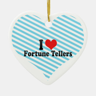 I Love Fortune Tellers Ornament