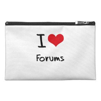 I Love Forums Travel Accessory Bag