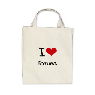 I Love Forums Bags