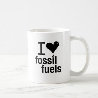 I Love Fossil Fuels Mug