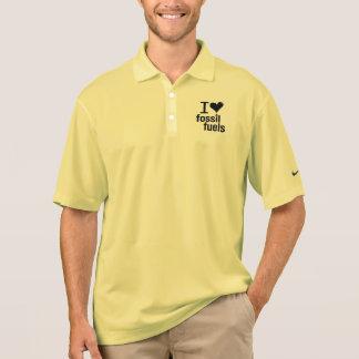 I Love Fossil Fuels Polo Shirt