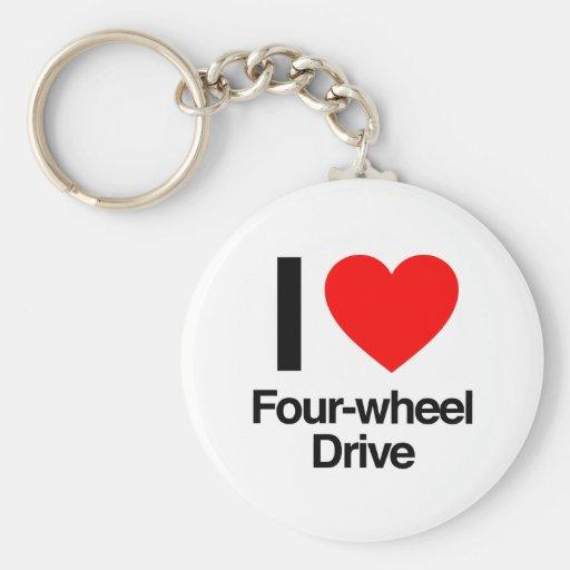 i love four-wheel drive key chains