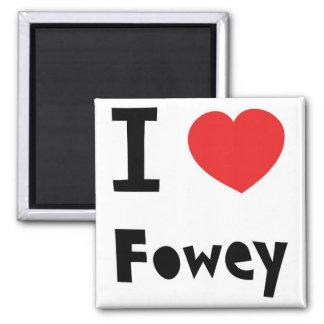 I love Fowey Magnet