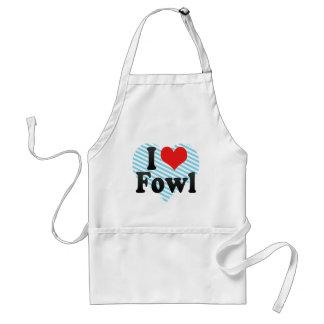 I Love Fowl Standard Apron