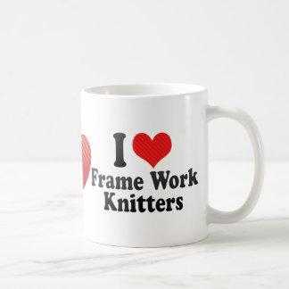 I Love Frame Work Knitters Mug