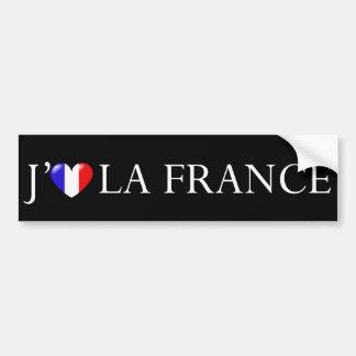 I love France sticker Bumper Sticker