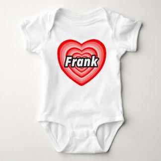 I love Frank Baby Bodysuit