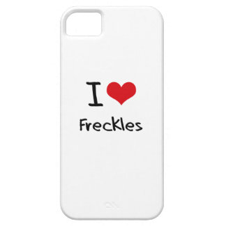 I Love Freckles iPhone 5 Cases