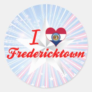 I Love Fredericktown, Missouri Sticker