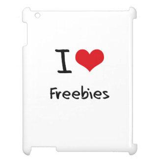 I Love Freebies iPad Cover