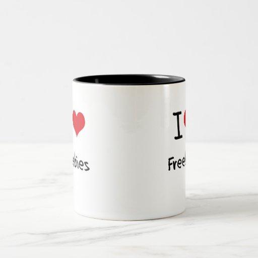 I Love Freebies Mug