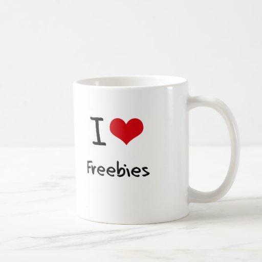 I Love Freebies Mugs