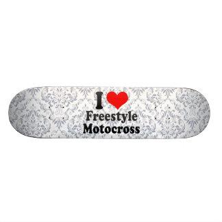 I love Freestyle Motocross Skate Deck