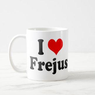 I Love Frejus, France Basic White Mug