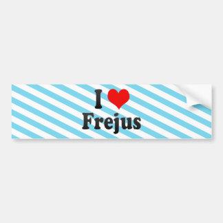 I Love Frejus, France Bumper Stickers