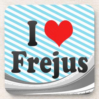 I Love Frejus France Drink Coasters