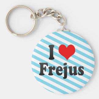 I Love Frejus France Key Chain