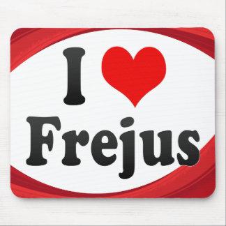 I Love Frejus France Mousepad