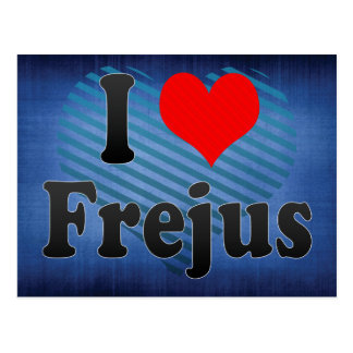 I Love Frejus France Post Cards