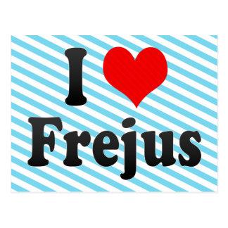 I Love Frejus, France Postcard