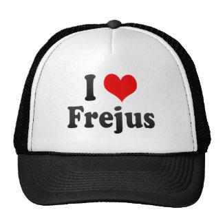 I Love Frejus France Trucker Hat