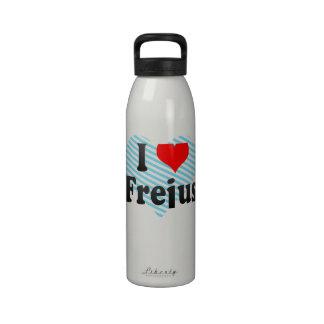 I Love Frejus, France Drinking Bottles