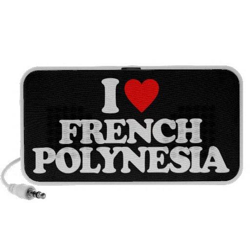 I LOVE FRENCH POLYNESIA SPEAKER SYSTEM