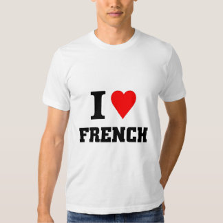 I love French T-shirts