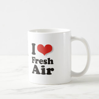 I Love Fresh Air Coffee Mug