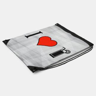 I Love Fresh Sodas Drawstring Bag